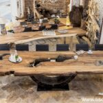 Altholz Esstisch Esstische Altholz Esstisch Nach Mass Mit Glasplatte Selber Bauen Tisch Machen Massivholz Eiche Massiv Kaufen Lampe Esstischlampe Recyclingholz Rechteckig Naturfarben