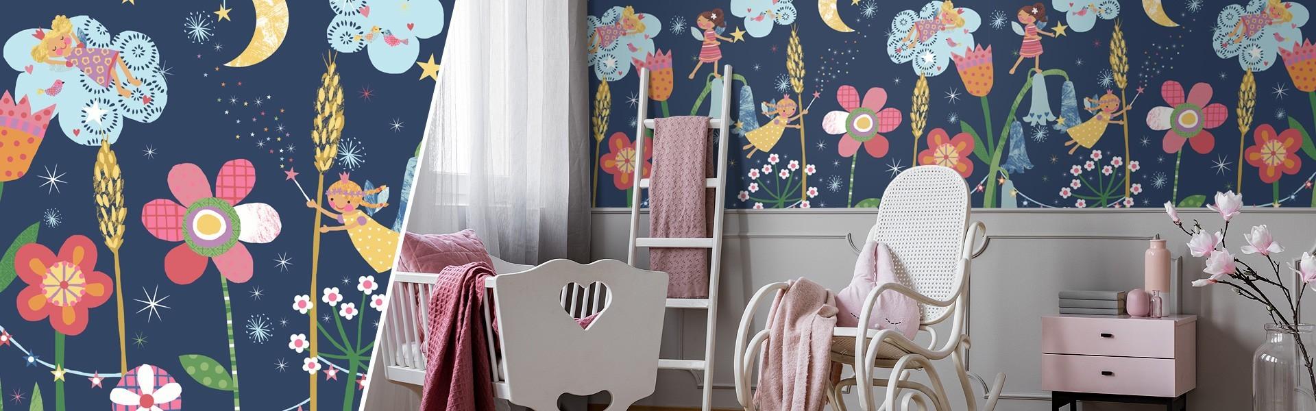 Full Size of Kinderzimmer Tapete Regal Weiß Küche Modern Fototapete Fenster Fototapeten Wohnzimmer Tapeten Für Die Sofa Schlafzimmer Regale Ideen Wohnzimmer Kinderzimmer Tapete