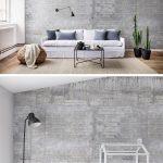 Vliestapete Wohnzimmer Wohnzimmer Vliestapete Wohnzimmer Wooden Concrete In 2020 Wandgestaltung Tapete Deckenleuchte Hängeschrank Weiß Hochglanz Relaxliege Hängeleuchte Moderne Bilder Fürs