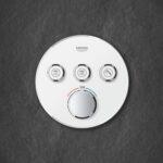 Grohe Thermostat Dusche Grohtherm Smartcontrol 43 Mm Pendeltür Bodenebene Mischbatterie Hüppe Bodengleiche Duschen Fliesen Badewanne Mit Tür Und Walk In Dusche Grohe Thermostat Dusche