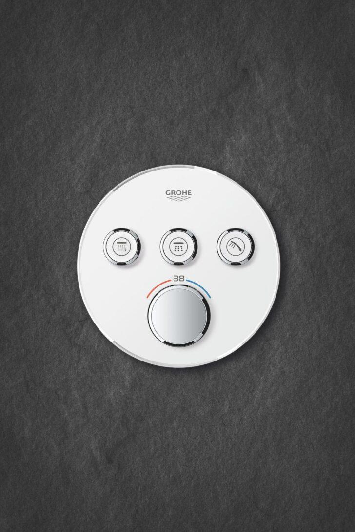 Medium Size of Grohe Thermostat Dusche Grohtherm Smartcontrol 43 Mm Pendeltür Bodenebene Mischbatterie Hüppe Bodengleiche Duschen Fliesen Badewanne Mit Tür Und Walk In Dusche Grohe Thermostat Dusche