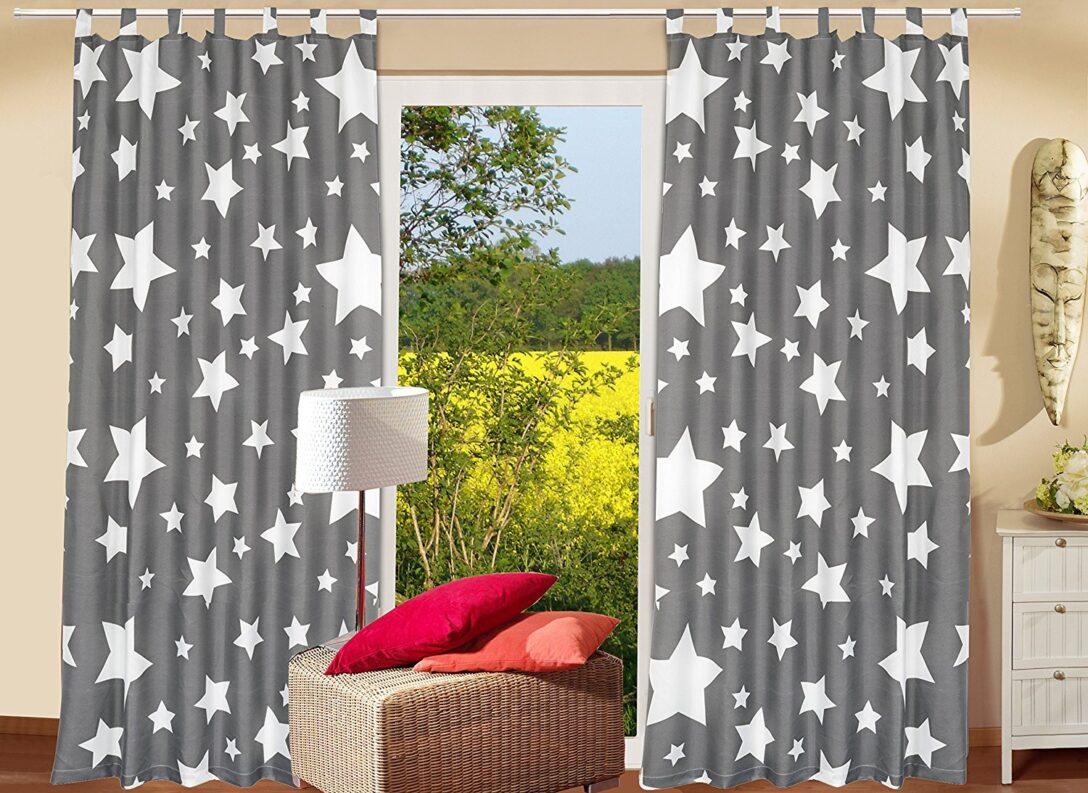Large Size of 2er Set Schlaufenschal Dekoschal Stars All Over Real Sofa Kinderzimmer Regal Weiß Regale Kinderzimmer Schlaufenschal Kinderzimmer