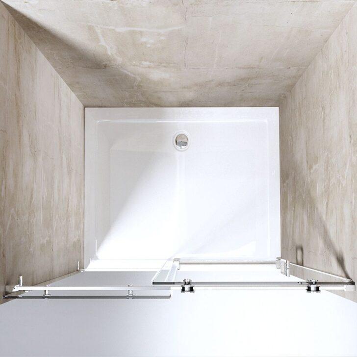 Medium Size of Design Nischenabtrennung Teramo4 2 Mit Einer Schiebetr Dusche Nischentür Wand Abfluss Hüppe Komplett Set Kleine Bäder Breuer Duschen Anal Bodengleich Dusche Nischentür Dusche