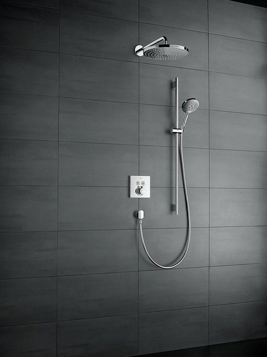 Large Size of Hansgrohe Showerselect Unterputz Thermostat Schulte Duschen Armatur Bad Dusche Ebenerdig Nischentür Begehbare Hüppe Kaufen Grohe Einbauen Siphon Werksverkauf Dusche Dusche Unterputz Armatur