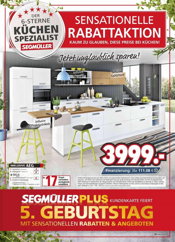 Full Size of Segmüller Küchen Segmller Aktuelles Prospekt 242019 3042019 Rabatt Kompass Küche Regal Wohnzimmer Segmüller Küchen