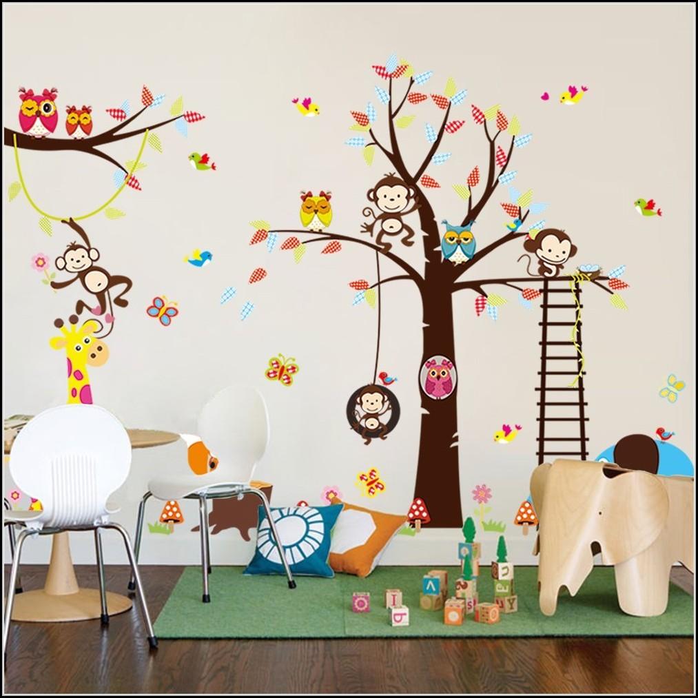 Full Size of Wandsticker Kinderzimmer Junge Jungen Wandtattoo Afrika Tiere Kinderzimme House Und Regal Weiß Küche Sofa Regale Kinderzimmer Wandsticker Kinderzimmer Junge