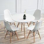 Esstisch Mit Stühlen 4 Sthlen Wei Esszimmer Real Singleküche Kühlschrank Kleine Bäder Dusche Lampe Quadratisch Sofa Hocker 2 Sitzer Relaxfunktion Betten Esstische Esstisch Mit Stühlen