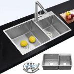 Waschbecken Küche Schrankküche Einbauküche Mit Elektrogeräten Amerikanische Kaufen Hängeregal Raffrollo Kreidetafel Bodenbelag Weiss Hochglanz Wohnzimmer Waschbecken Küche