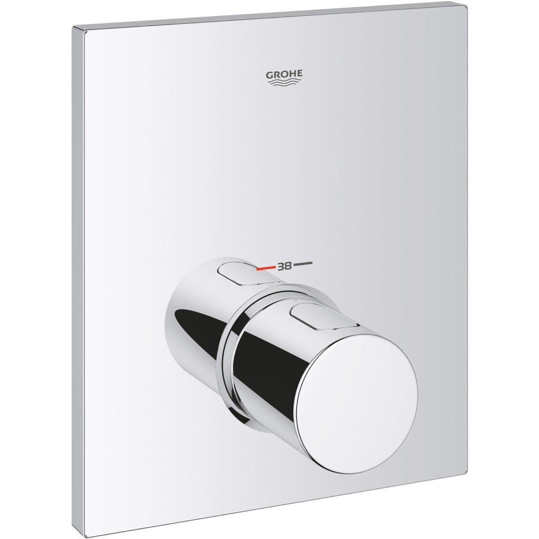 Large Size of Grohe Thermostat Dusche Zentralbatterie Grohtherm F Kaufen Bei Obi Nischentür Bodengleiche Rainshower Sprinz Duschen Begehbare Fliesen Schulte Werksverkauf Dusche Grohe Thermostat Dusche