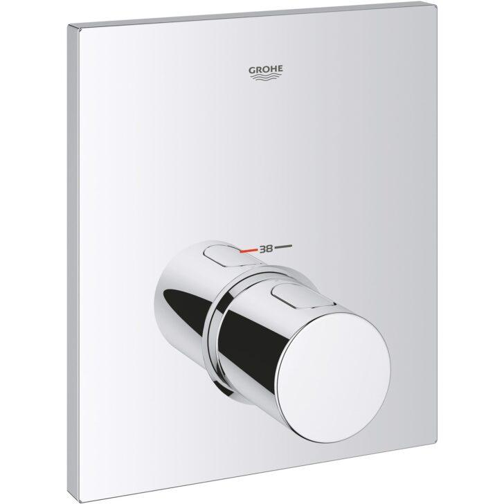 Medium Size of Grohe Thermostat Dusche Zentralbatterie Grohtherm F Kaufen Bei Obi Nischentür Bodengleiche Rainshower Sprinz Duschen Begehbare Fliesen Schulte Werksverkauf Dusche Grohe Thermostat Dusche