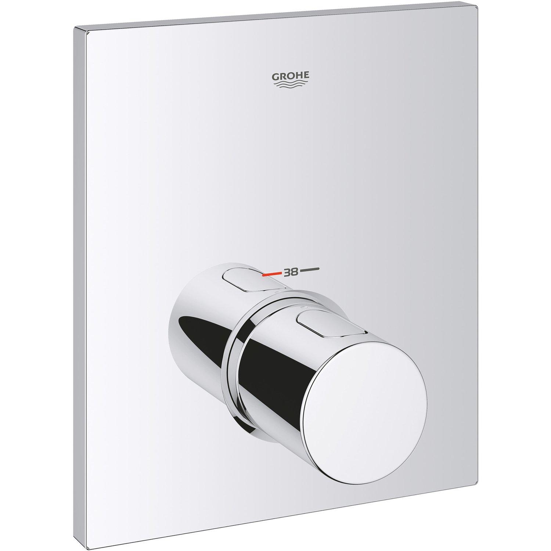 Full Size of Grohe Thermostat Dusche Zentralbatterie Grohtherm F Kaufen Bei Obi Nischentür Bodengleiche Rainshower Sprinz Duschen Begehbare Fliesen Schulte Werksverkauf Dusche Grohe Thermostat Dusche