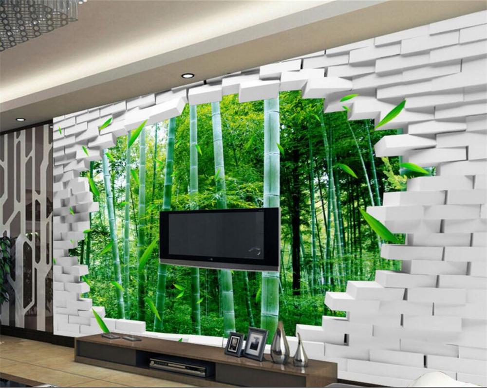 Full Size of 3d Wand Papier Beibehang Groe Eigene Tapete Ziegel Bambus Tapeten Für Küche Wohnzimmer Die Schlafzimmer Fototapeten Wohnzimmer 3d Tapeten