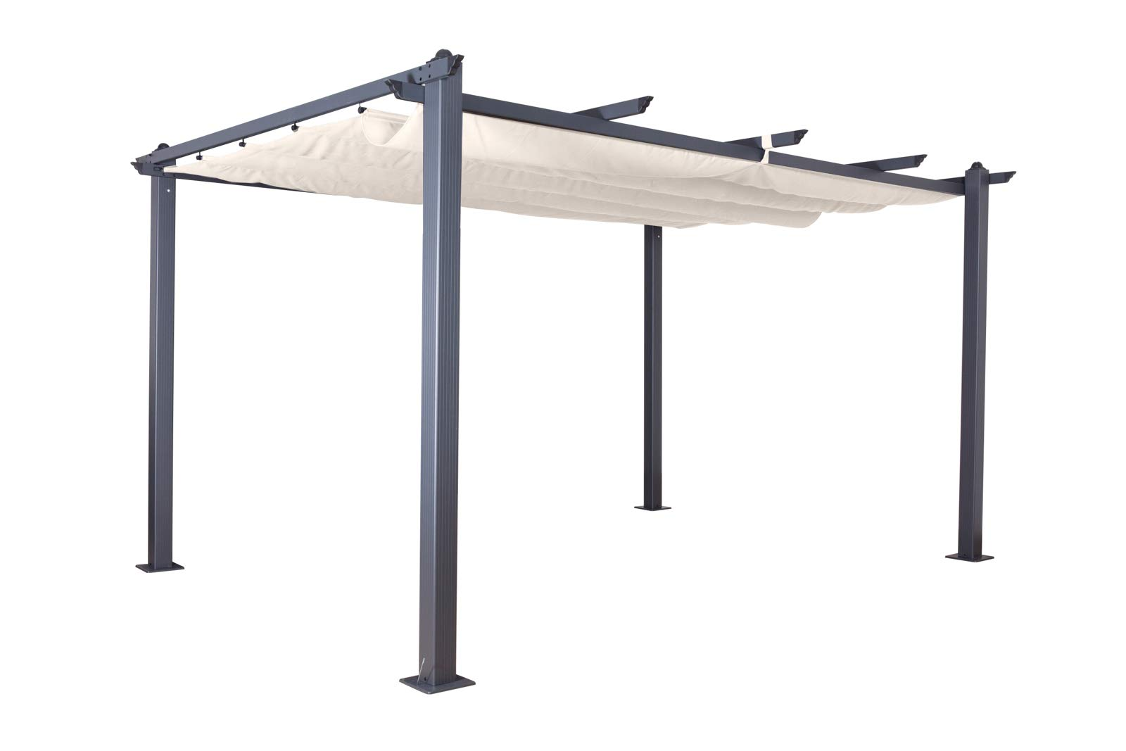 Full Size of überdachung Jet Line Pavillon Pergola Berdachung Luxor 4 3 M In Anthzrazit Wasserbrunnen Aufbewahrungsbox Bewässerung Pool Im Bauen Spaten Schaukel Wohnzimmer Garten überdachung
