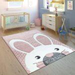 Teppiche Kinderzimmer Kinderzimmer Kinderteppich Kinderzimmer 3 D Motiv Hase Teppichde Regal Weiß Sofa Regale Wohnzimmer Teppiche