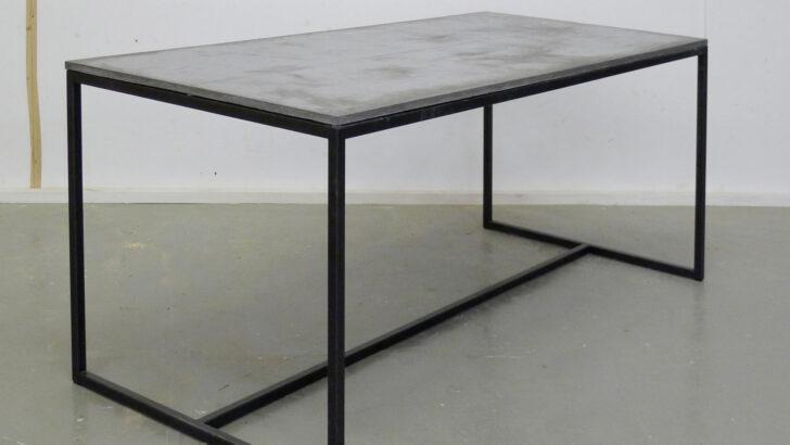 Medium Size of Esstisch Betonplatte Tisch Beton Metall Runder Kleiner Weiß Esstischstühle Und Stühle Ausziehbar Esstische Massivholz Holz Massiv Skandinavisch Ovaler Esstische Esstisch Betonplatte