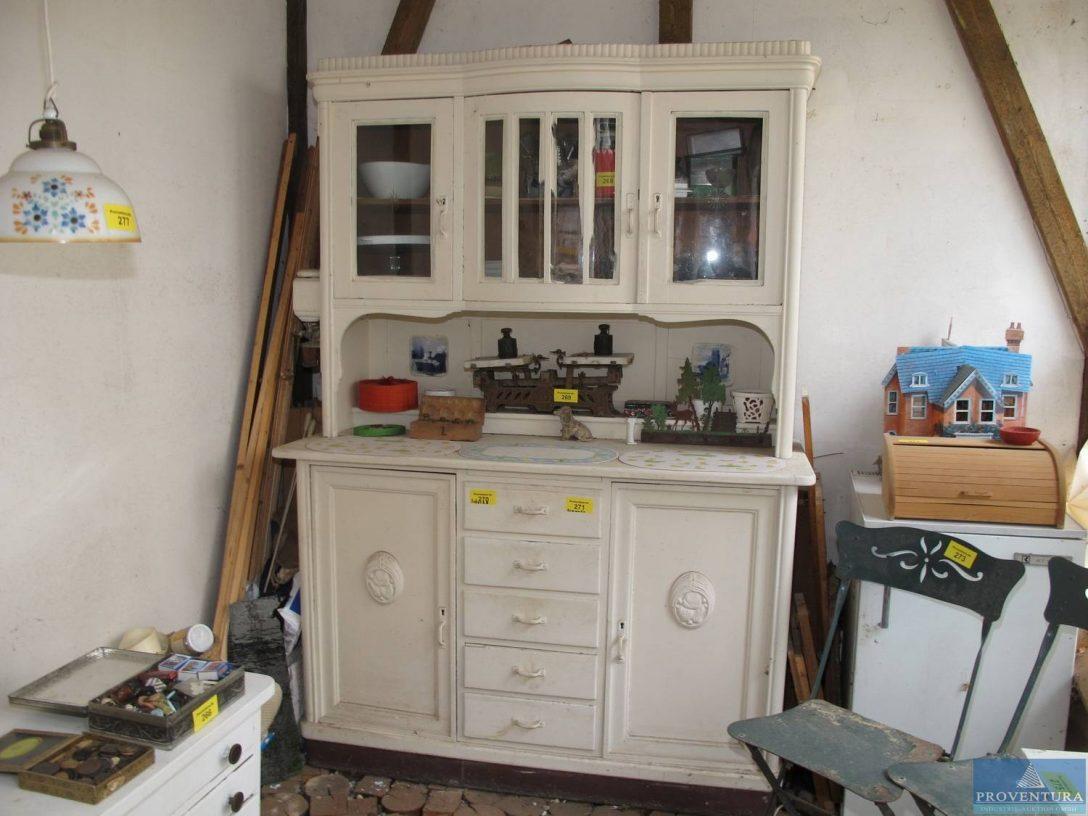 Large Size of Kchenanrichte Wei Proventura Online Auktion Wohnzimmer Küchenanrichte