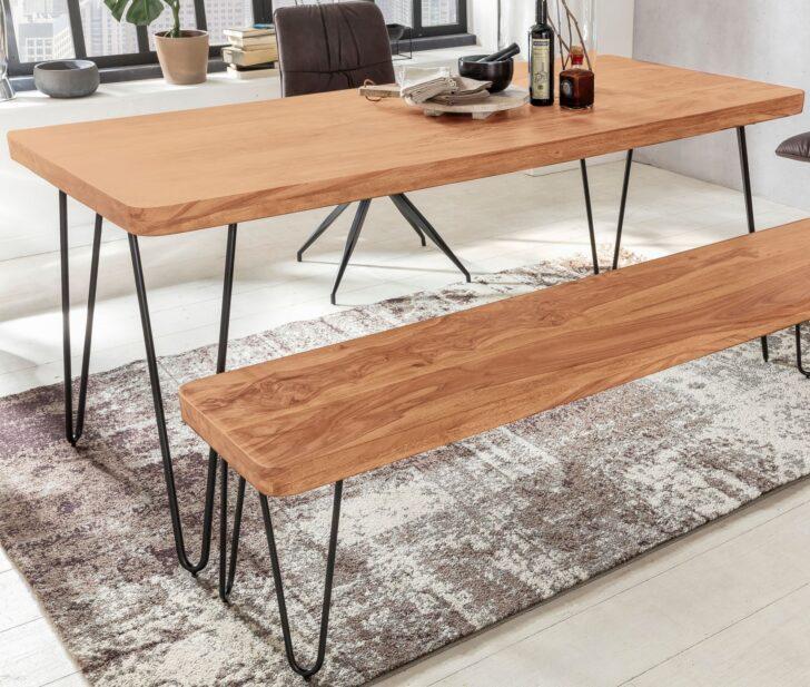 Medium Size of Massiver Esstisch Harlem Akazie Holz Tisch Massiv Esszimmertisch Rund Betonplatte Esstische Massivholz Stühle 80x80 Vintage 160 Ausziehbar Esstischstühle Esstische Massiver Esstisch