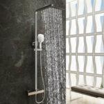 Duschsäulen Dusche Duschsäulen Der Soho Regendusche 80x80