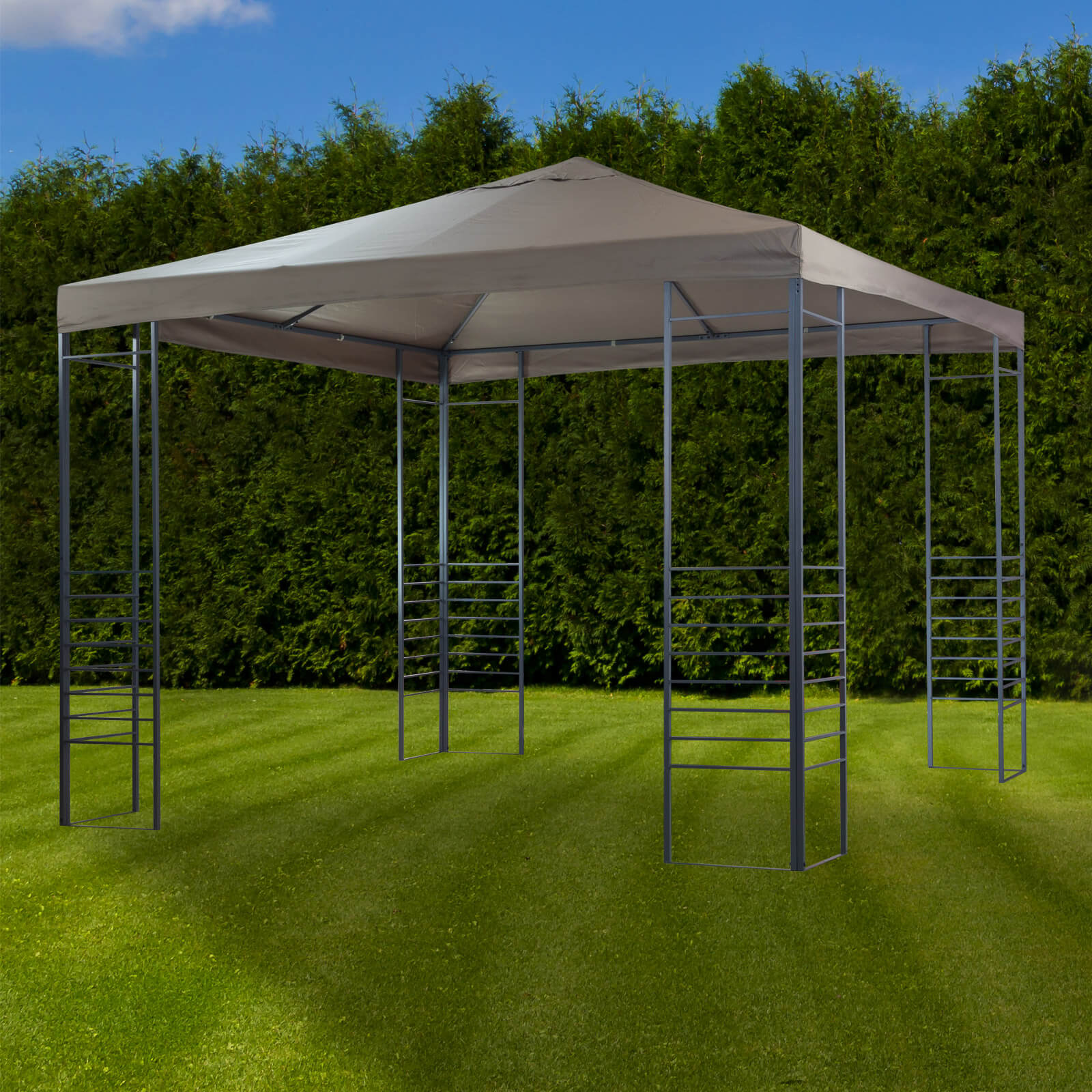 Full Size of Garten Pavillon Sonnenschutz 3x3 Nizza Für Fenster Trampolin Sonnenschutzfolie Innen Außen Wohnzimmer Sonnenschutz Trampolin