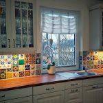 Fliesenspiegel Küche Modern Mexikanische Fliesen Als In Der Kche Möbelgriffe Pino Weiss Massivholzküche Deckenleuchten Niederdruck Armatur Einhebelmischer Wohnzimmer Fliesenspiegel Küche Modern