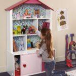 Kinderzimmer Bücherregal Kinderzimmer 2 In 1 Regal Und Puppenhaus Berlinfreckles Regale Kinderzimmer Sofa Weiß