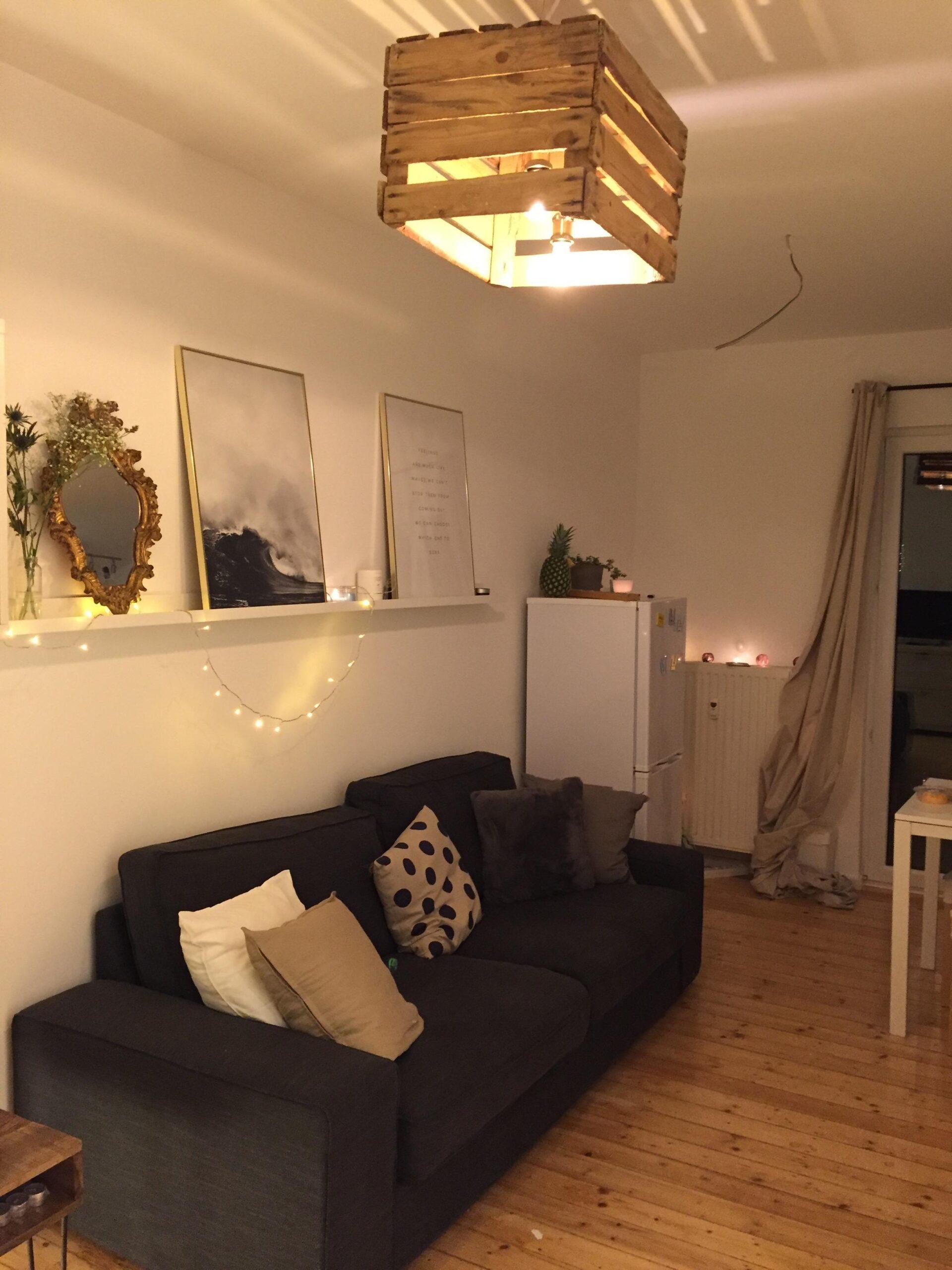 Full Size of Lampen Für Wohnzimmer Mit Diy Lampe Ikea Desenio Scandi L Led Deckenleuchte Gardinen Die Küche Stehlampe Decke Spiegelschrank Bad Folien Fenster Deko Wohnzimmer Lampen Für Wohnzimmer