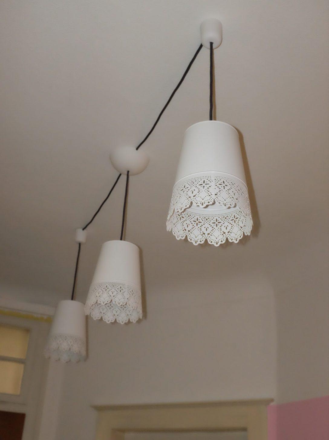 Large Size of Ikea Hack Aus Blumenvasen Wird Eine Deckenlampe Deckenlampen Für Wohnzimmer Schlafzimmer Esstisch Miniküche Modern Modulküche Küche Kaufen Kosten Bad Wohnzimmer Ikea Deckenlampe