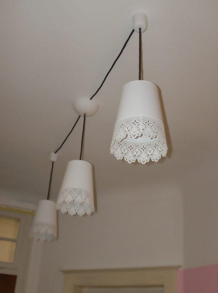 Medium Size of Ikea Hack Aus Blumenvasen Wird Eine Deckenlampe Deckenlampen Für Wohnzimmer Schlafzimmer Esstisch Miniküche Modern Modulküche Küche Kaufen Kosten Bad Wohnzimmer Ikea Deckenlampe
