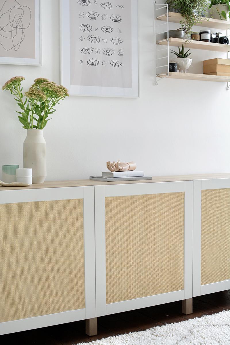 Full Size of Diy Cane Sideboard Ikea Hack Burkatron Miniküche Küche Kosten Wohnzimmer Modulküche Kaufen Betten Bei Mit Arbeitsplatte 160x200 Sofa Schlaffunktion Wohnzimmer Ikea Sideboard