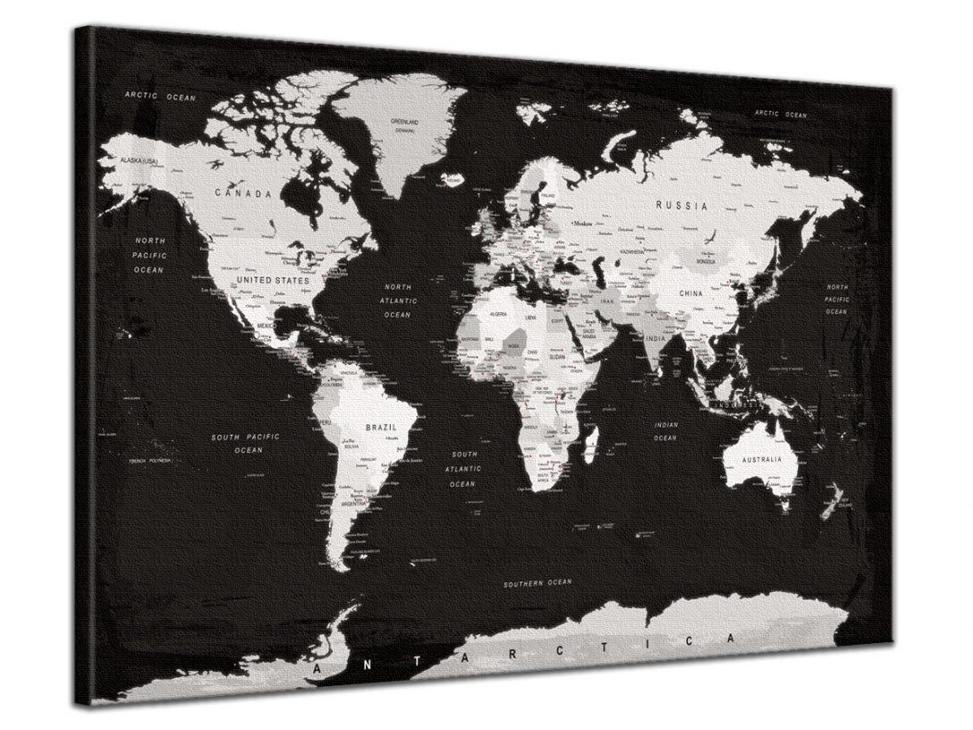 Large Size of Pinnwand Modern Weltkarte Schwarz Wei Grau Spiral Digital Küche Holz Deckenlampen Wohnzimmer Moderne Bilder Fürs Modernes Bett Deckenleuchte 180x200 Wohnzimmer Pinnwand Modern