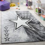 Kinderzimmer Teppiche Kinderzimmer Teppich Kinderzimmer Stern Design Spielteppich Teppichde Regal Weiß Sofa Wohnzimmer Teppiche Regale