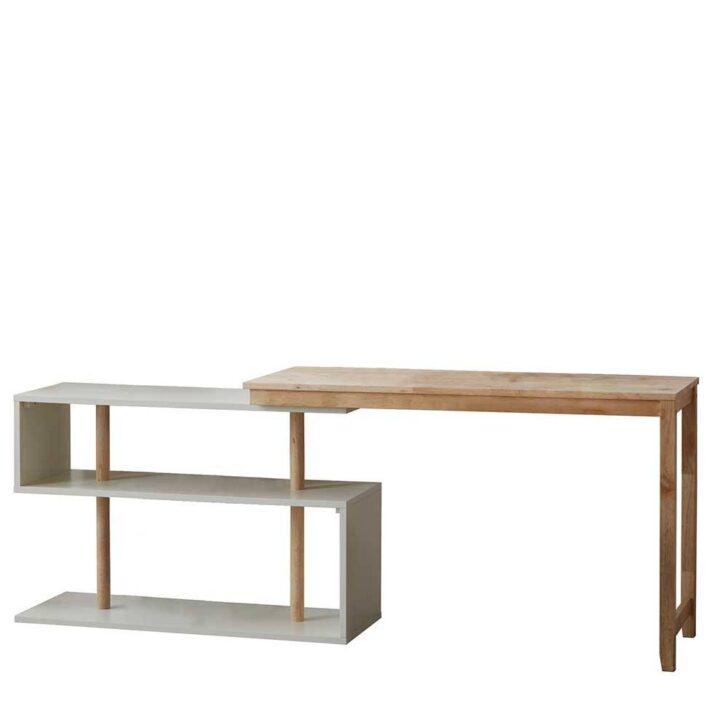 Medium Size of Regal Schreibtisch Integriert Ikea Mit Selber Bauen Regalaufsatz Kombination Integriertem Kombi Klappbar Scandi Style Design Aus Kautschuk Holz Kleiderschrank Regal Regal Schreibtisch