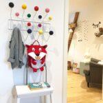 Garderobe Kinderzimmer Jetzt Kommt Farbe Auf Den Flur Regal Sofa Weiß Regale Kinderzimmer Garderobe Kinderzimmer