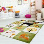 Kinderteppich Kinderzimmer Teppich Flachflor Tiere Real Regal Weiß Wohnzimmer Teppiche Regale Sofa Kinderzimmer Teppiche Kinderzimmer
