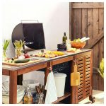 Pplar Klasen Charcoal Barbecue W Cart Cabinet Brown Arbeitstisch Küche Kleine Einrichten Einbauküche Selber Bauen Ebay Komplette Gardine Bodenfliesen Wohnzimmer Outdoor Küche Ikea