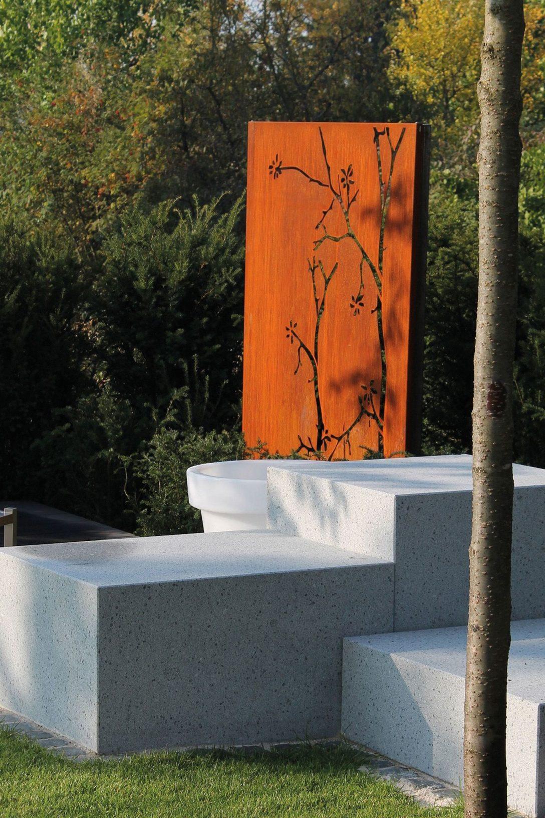 Large Size of Sichtschutz Rost Hornbach Metall Pusteblume Garten Schlafzimmer Set Mit Matratze Und Lattenrost Bett Für Fenster 160x200 180x200 Komplett Rostock Wohnzimmer Sichtschutz Rost Hornbach