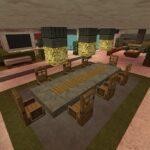 Minecraft Küche Wohnzimmer Minecraft Küche Kreidetafel Billige Ohne Elektrogeräte Stehhilfe Mobile Wasserhahn Wandanschluss Scheibengardinen Spülbecken Vorhänge Hochschrank Kleiner