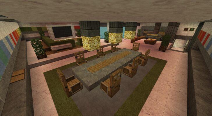 Medium Size of Minecraft Küche Kreidetafel Billige Ohne Elektrogeräte Stehhilfe Mobile Wasserhahn Wandanschluss Scheibengardinen Spülbecken Vorhänge Hochschrank Kleiner Wohnzimmer Minecraft Küche