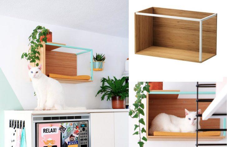 Medium Size of 7 Meowellous Ikea Hacks For Cat Lovers Miniküche Sofa Mit Schlaffunktion Modulküche Küche Kaufen Betten Bei Kosten 160x200 Wohnzimmer Ikea Hacks