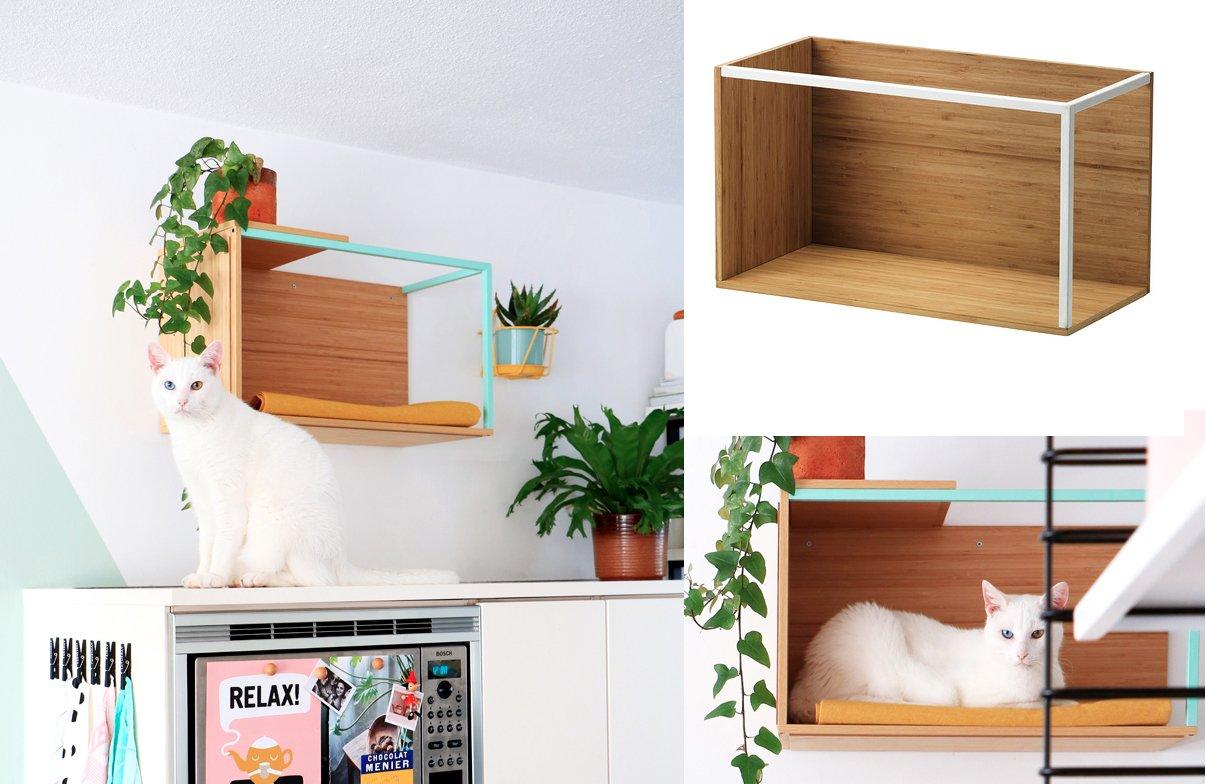 Full Size of 7 Meowellous Ikea Hacks For Cat Lovers Miniküche Sofa Mit Schlaffunktion Modulküche Küche Kaufen Betten Bei Kosten 160x200 Wohnzimmer Ikea Hacks