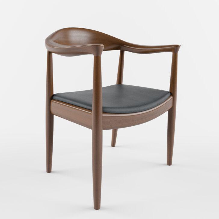 Medium Size of Esstischstühle Avia Mid Century Sessel In Schwarzbraun Kathy Kuo Home Esstische Esstischstühle