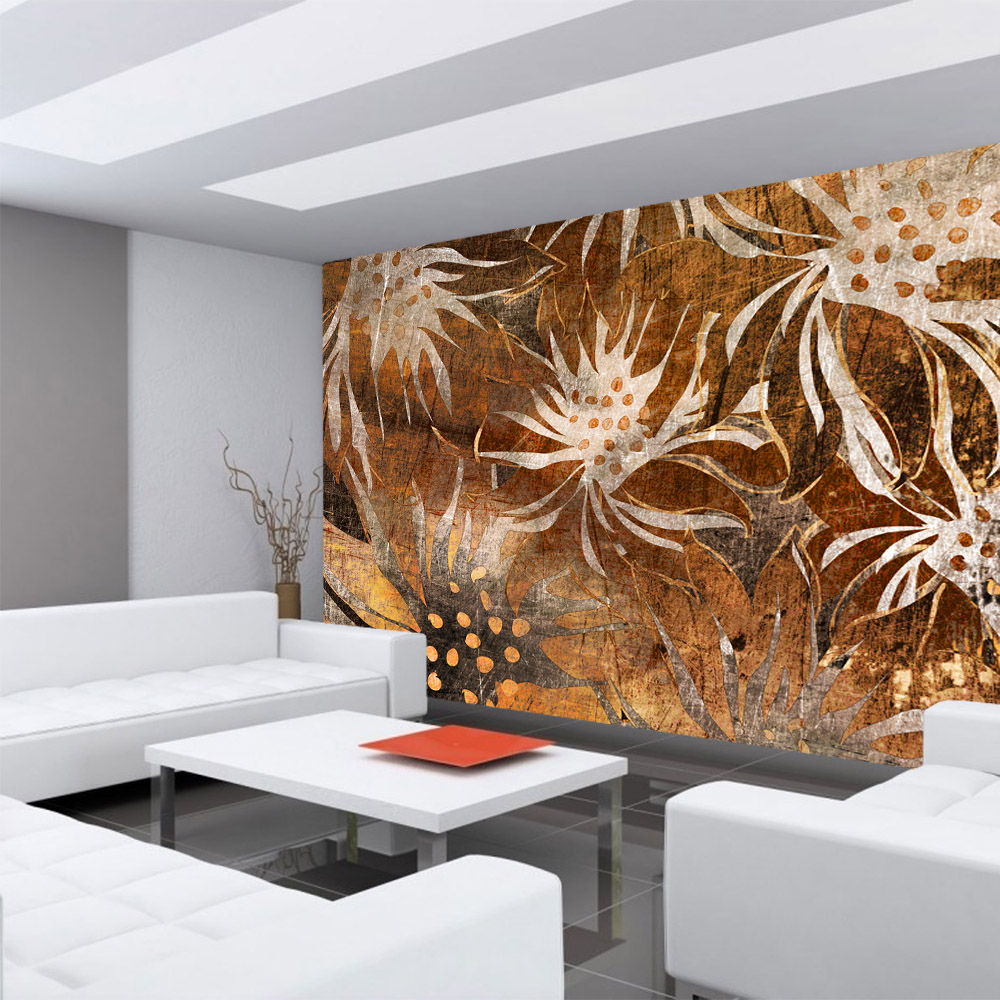 Full Size of 3d Fototapete Vlies Grunge Floral Lifestyle Andmorede Schlafzimmer Küche Fototapeten Wohnzimmer Fenster Wohnzimmer 3d Fototapete