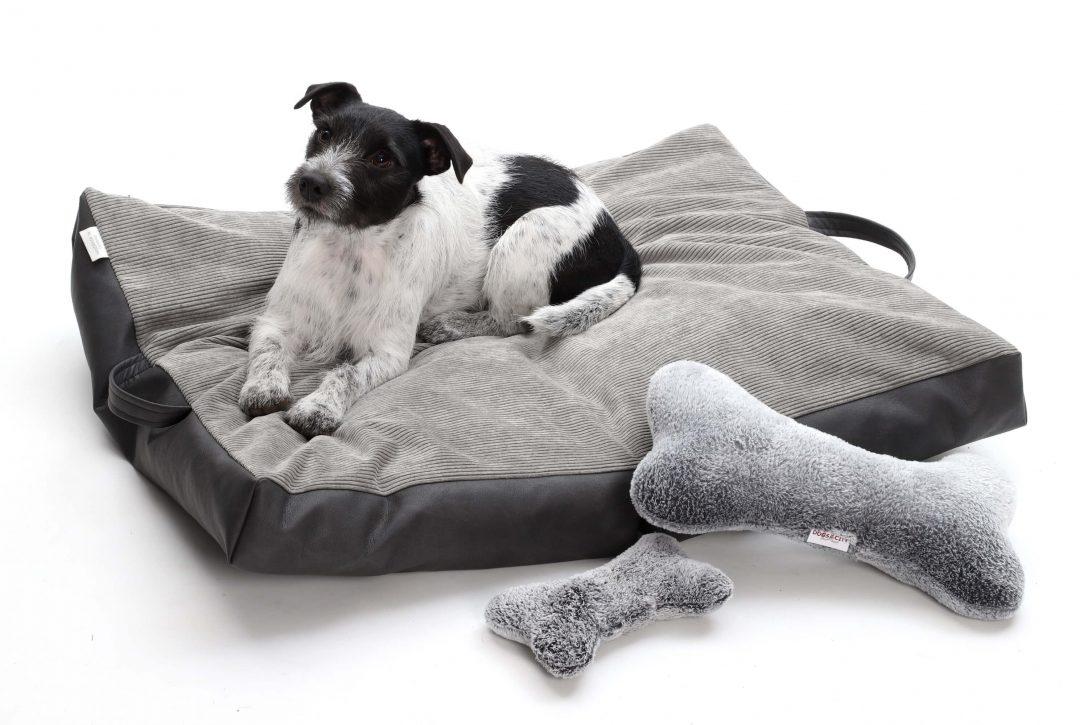 Large Size of Hundebett Flocke Travel Bed Reisekissen Grau S M Dogs In The City Wohnzimmer Hundebett Flocke