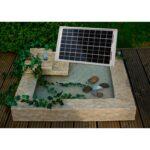 Gartenbrunnen Solar Wohnzimmer Gartenbrunnen Solar Heissner Laura Kaufen Bei Obi