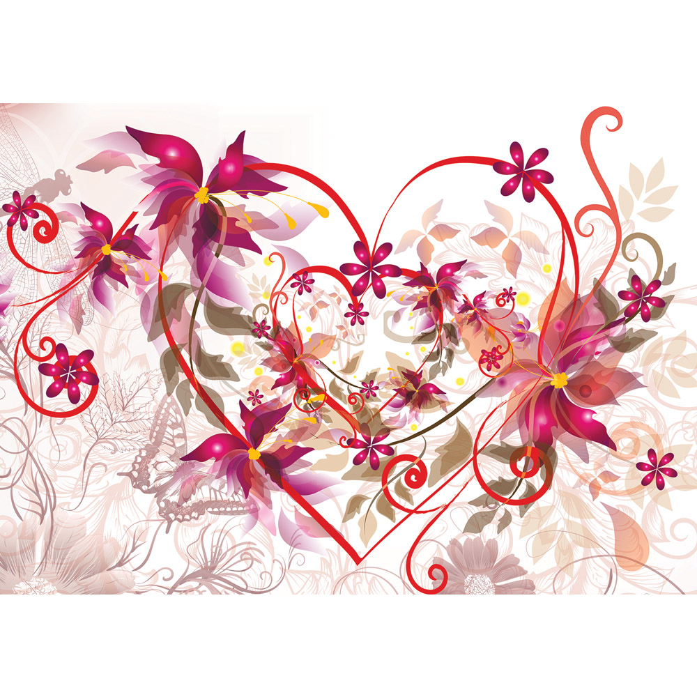 Full Size of Fototapete Blumen Aquarell Dunkel Blumenwiese Bunte Rosa Kaufen Rosen Komar Schlafzimmer 3d Vlies Vintage Fototapeten Weiss Herz Ornamente Rot Beige Küche Wohnzimmer Fototapete Blumen