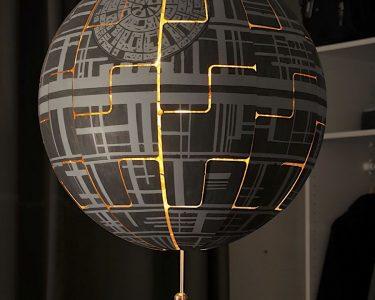 Ikea Lampen Wohnzimmer Ikea Lampen Lylelo Gestaltet Eine Lampe In Den Todesstern Um Star Wars Küche Miniküche Sofa Mit Schlaffunktion Deckenlampen Wohnzimmer Modern Betten Bei Bad