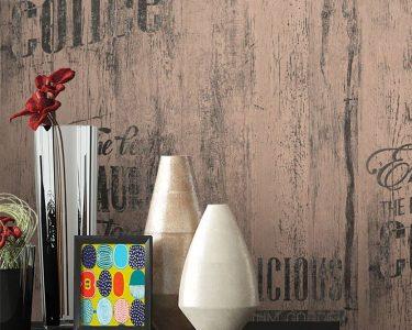 Küche Tapete Wohnzimmer Küche Tapete Papiertapete Braun Caf Aufschrift Alte Werbung Kche Ikea Kosten Holzregal Landhausküche Grau Wasserhahn Pino Günstige Mit E Geräten