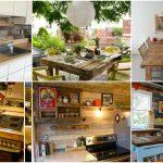Paletten Küche Kche Mit Einrichten Büroküche Arbeitsplatten Ikea Miniküche Laminat Für Anrichte Rolladenschrank Spüle Hängeschränke Sitzgruppe Wohnzimmer Paletten Küche