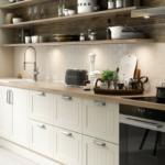 Küchenwand Wohnzimmer Skandinavische Landhauskche Ideen