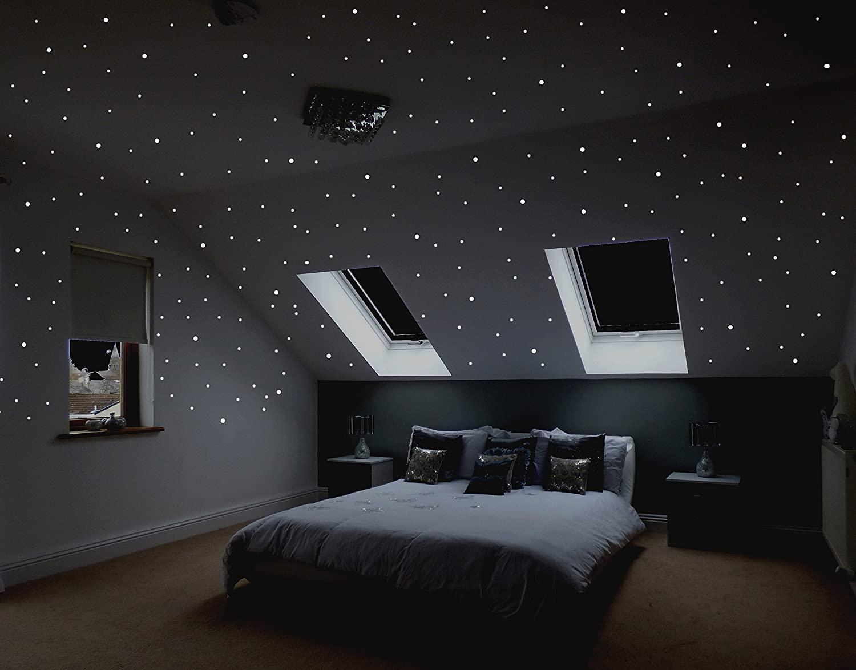 Full Size of Sternenhimmel Kinderzimmer Realistischer Zum Kleben Mit Ber 400 Regale Regal Weiß Sofa Kinderzimmer Sternenhimmel Kinderzimmer